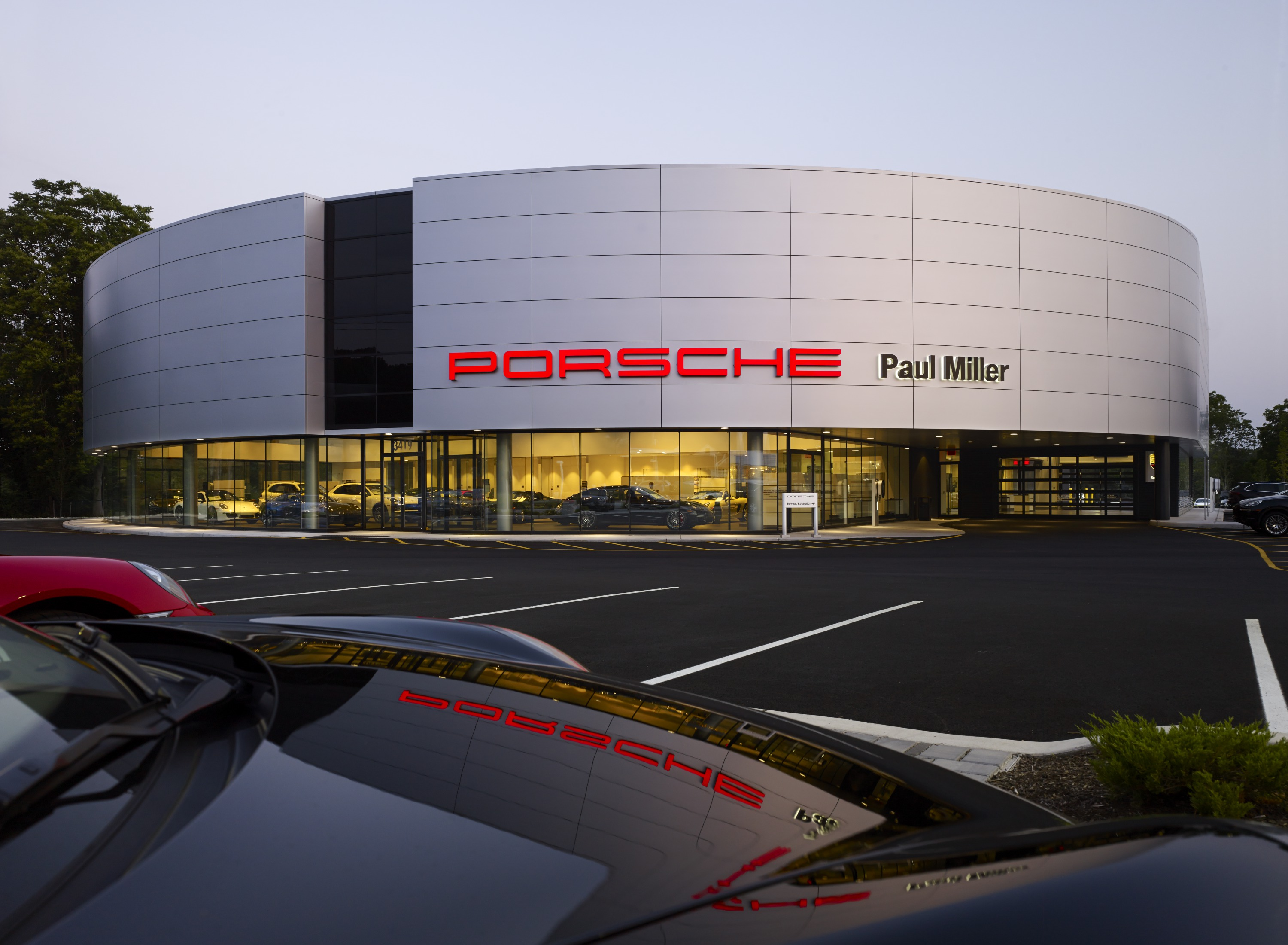 Paul Miller Porsche New Showroom Amp Service Center Natoli